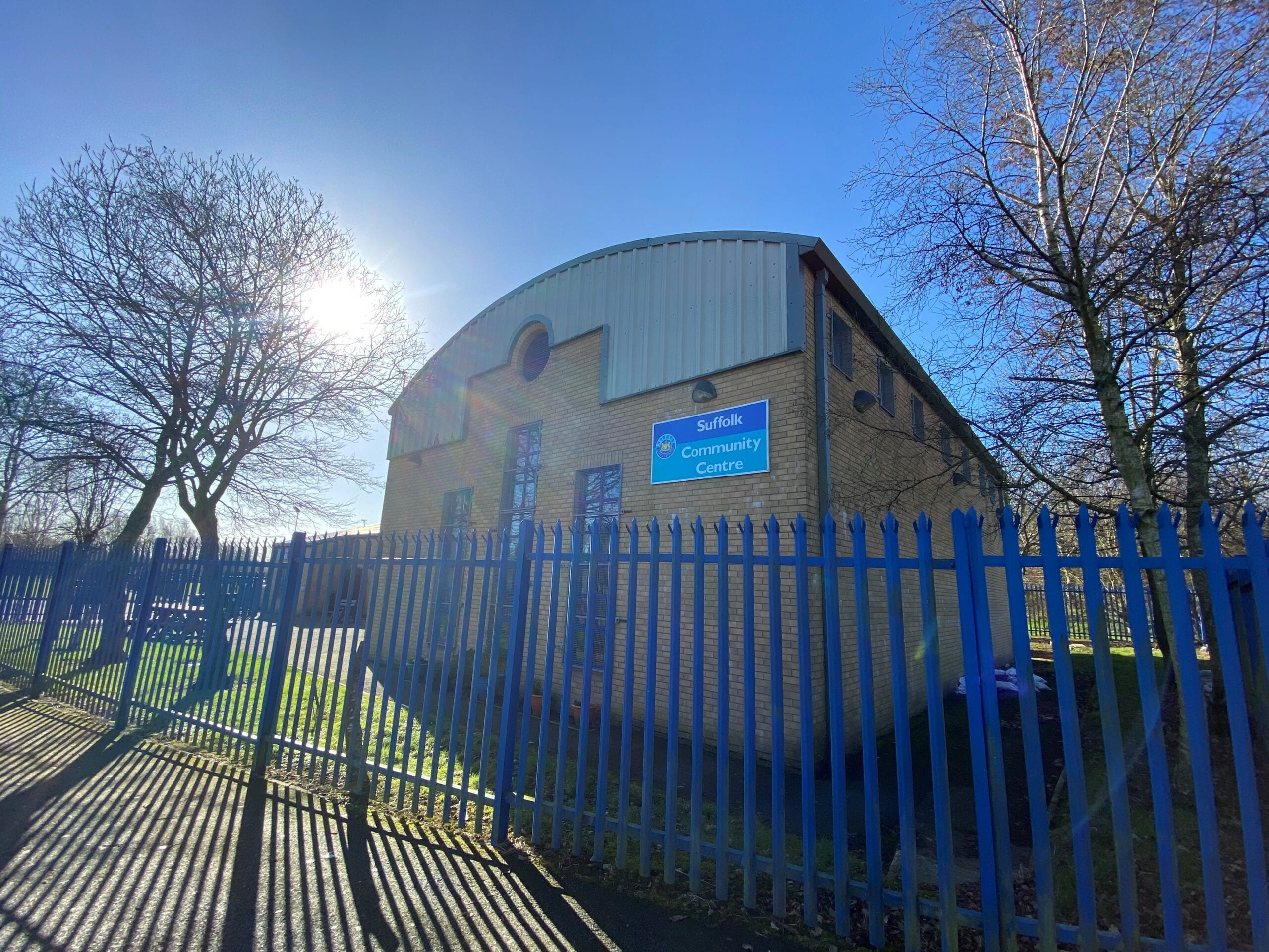 Suffolk Community Centre Chimney Installation Featured Image