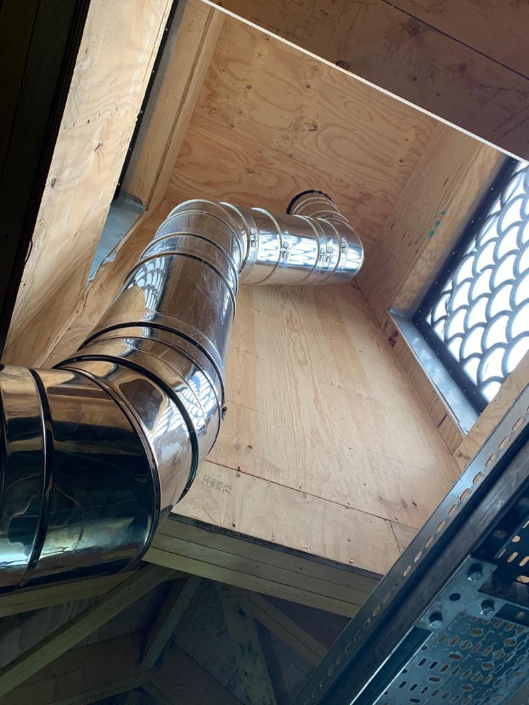 Trinity College, Oxford Chimney Installation Gallery Image