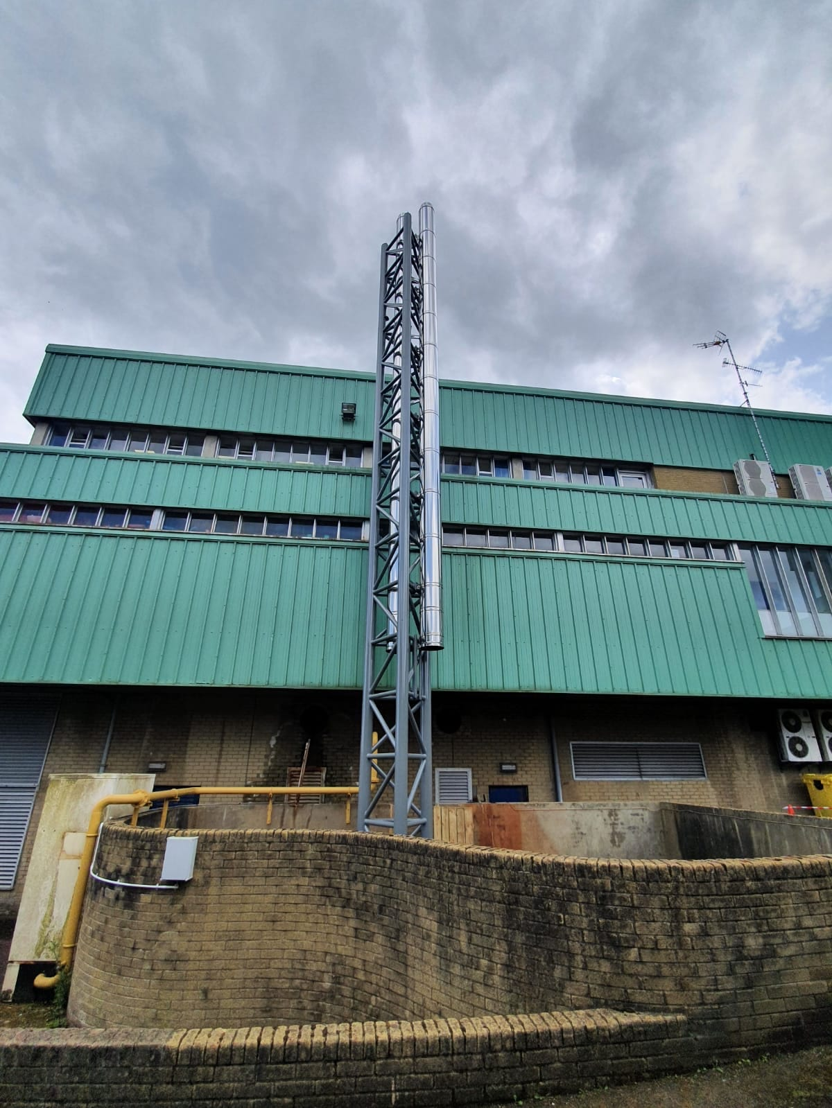 Templemore Sports Complex Chimney Installation Gallery Image
